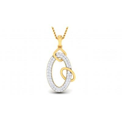 MARALA DIAMOND FASHION PENDANT in 18K Gold