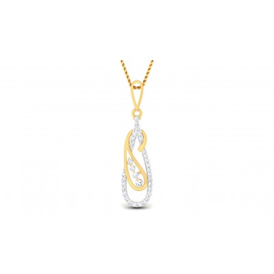 EKANI DIAMOND FASHION PENDANT in 18K Gold