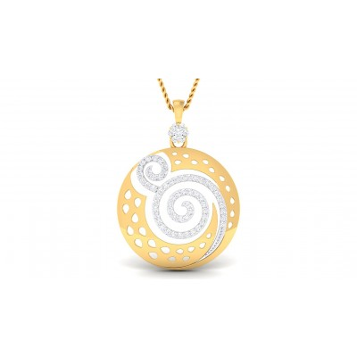 RATI DIAMOND FASHION PENDANT in 18K Gold