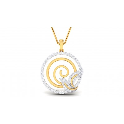 TENLEY DIAMOND FASHION PENDANT in 18K Gold