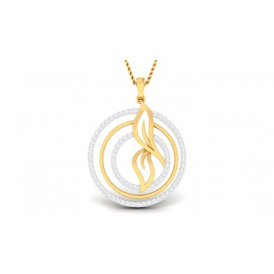 CELIA DIAMOND FASHION PENDANT in 18K Gold