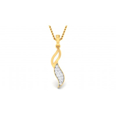 SHAMIM DIAMOND FASHION PENDANT in 18K Gold