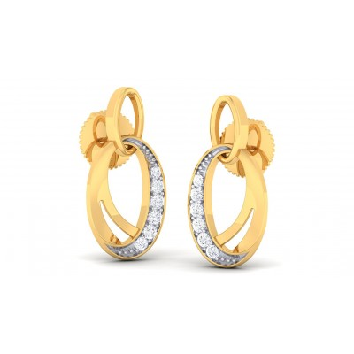 VAMITA DIAMOND DROPS EARRINGS in 18K Gold