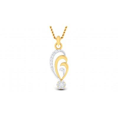 KASHISH DIAMOND FASHION PENDANT in 18K Gold