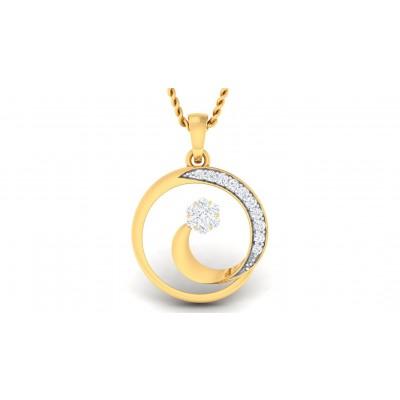 ANAVI DIAMOND FASHION PENDANT in 18K Gold