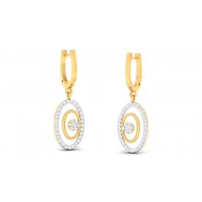RANGAT DIAMOND DROPS EARRINGS in 18K Gold