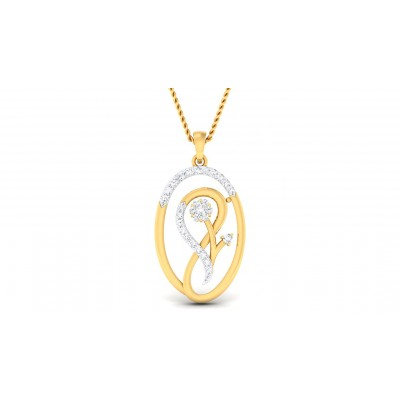 ACHLA DIAMOND FASHION PENDANT in 18K Gold