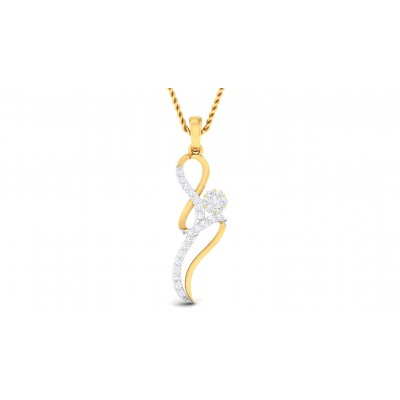 SUPREMA DIAMOND FASHION PENDANT in 18K Gold