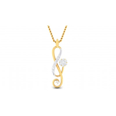 SMITA DIAMOND FASHION PENDANT in 18K Gold