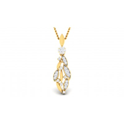 RUPAL DIAMOND FASHION PENDANT in 18K Gold