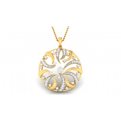 GITA DIAMOND FASHION PENDANT in 18K Gold