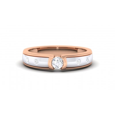 ANALY DIAMOND BANDS RING in 18K Gold