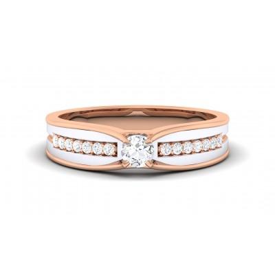 SARUPA DIAMOND BANDS RING in 18K Gold