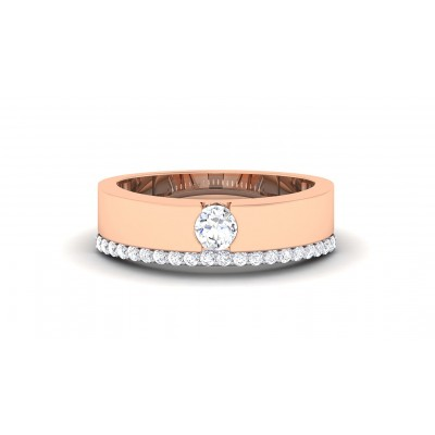 RATI DIAMOND BANDS RING in 18K Gold