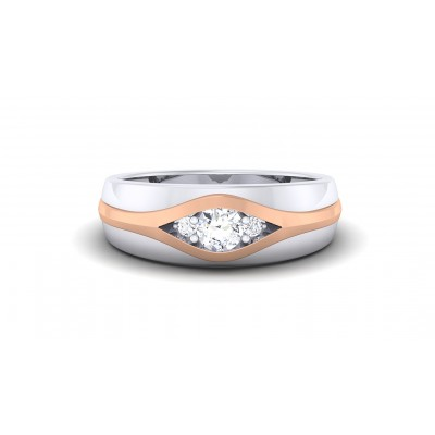 SESHA DIAMOND BANDS RING in 18K Gold