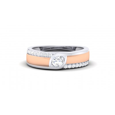 RAGI DIAMOND BANDS RING in 18K Gold