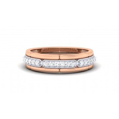 SHASHA DIAMOND BANDS RING in 18K Gold