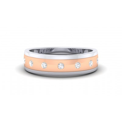 ASITA DIAMOND BANDS RING in 18K Gold