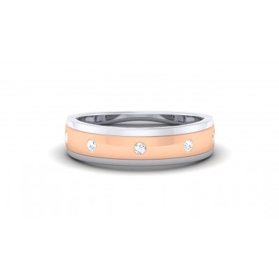 TISTA DIAMOND BANDS RING in 18K Gold