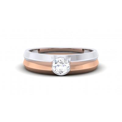 KAYLAH DIAMOND BANDS RING in 18K Gold
