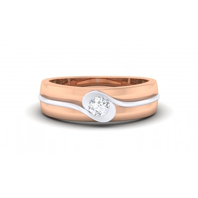 MRINALI DIAMOND BANDS RING in 18K Gold