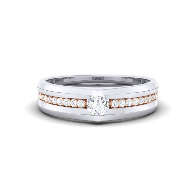 TALIKA DIAMOND BANDS RING in 18K Gold