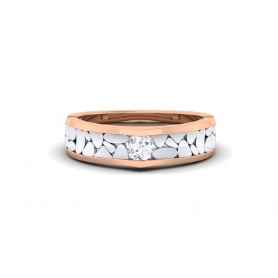 SHARADA DIAMOND BANDS RING in 18K Gold