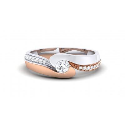 UTPALA DIAMOND BANDS RING in 18K Gold