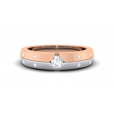 ATHENA DIAMOND BANDS RING in 18K Gold