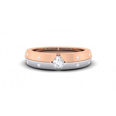 RANI DIAMOND BANDS RING in 18K Gold