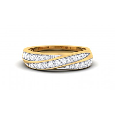 ARTANA DIAMOND BANDS RING in 18K Gold