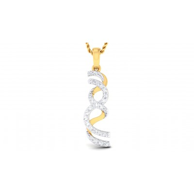 SWARA DIAMOND FASHION PENDANT in 18K Gold
