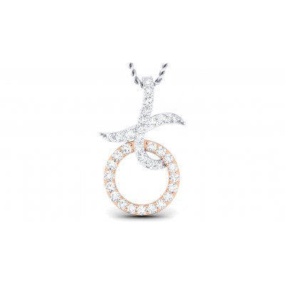 ZURIA DIAMOND FASHION PENDANT in 18K Gold