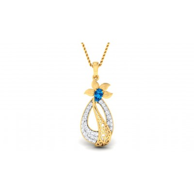 ANANDI DIAMOND FASHION PENDANT in 18K Gold