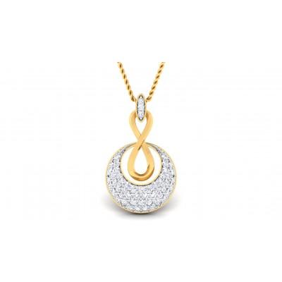 BRENDA DIAMOND FASHION PENDANT in 18K Gold