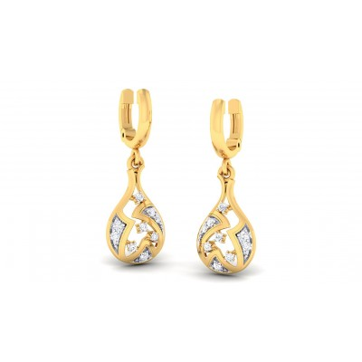 SANJITA DIAMOND DROPS EARRINGS in 18K Gold