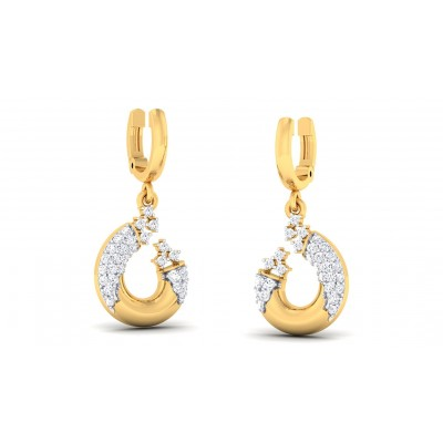 GOPIKA DIAMOND DROPS EARRINGS in 18K Gold