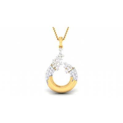 ROHANA DIAMOND FASHION PENDANT in 18K Gold