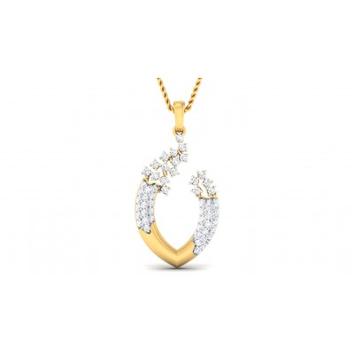 AVANI DIAMOND FASHION PENDANT in 18K Gold