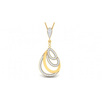 CIARA DIAMOND FASHION PENDANT in 18K Gold