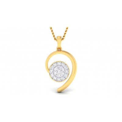 ANOKHI DIAMOND FASHION PENDANT in 18K Gold