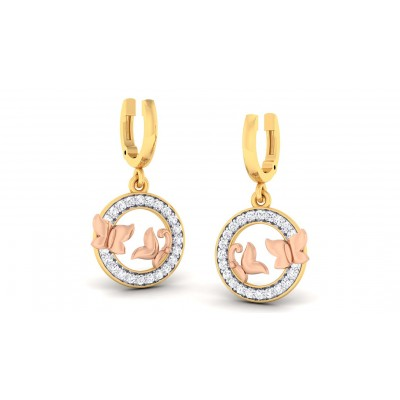 PREMA DIAMOND DROPS EARRINGS in 18K Gold