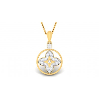 SHANAYA DIAMOND FASHION PENDANT in 18K Gold