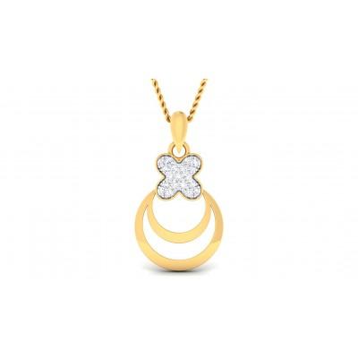 SAGUNA DIAMOND FASHION PENDANT in 18K Gold