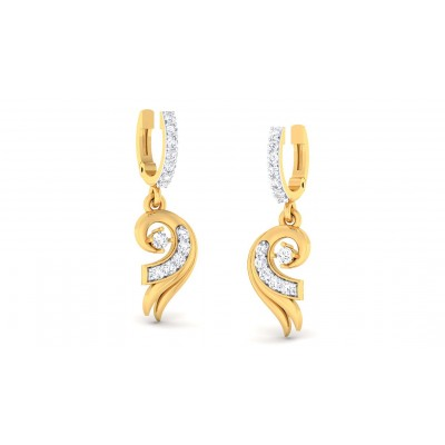 ALEX DIAMOND DROPS EARRINGS in 18K Gold
