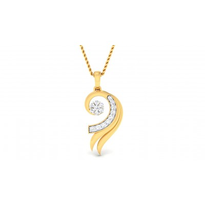 SESHA DIAMOND FASHION PENDANT in 18K Gold