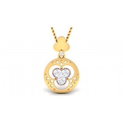 IRAVATI DIAMOND FASHION PENDANT in 18K Gold