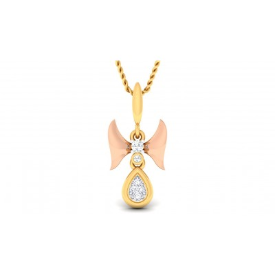 MISHITA DIAMOND FASHION PENDANT in 18K Gold
