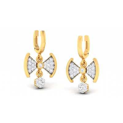 RITA DIAMOND DROPS EARRINGS in 18K Gold