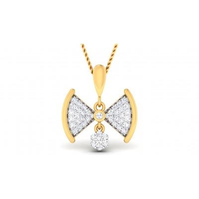 REBECA DIAMOND FASHION PENDANT in 18K Gold